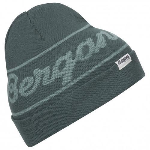 Bergans - Bergans Logo Youth Beanie - Mütze Gr One Size schwarz/grau