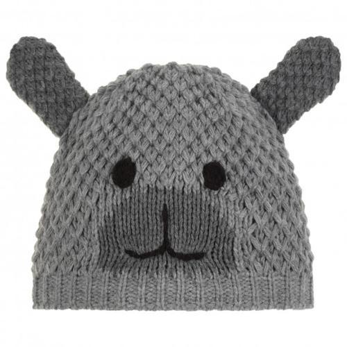 Eisbär - Kid's Grizzly - Mütze Gr 53 cm grau/weiß