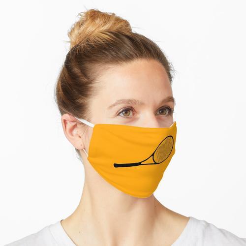 Tennisschläger Liebe Tennis Maske