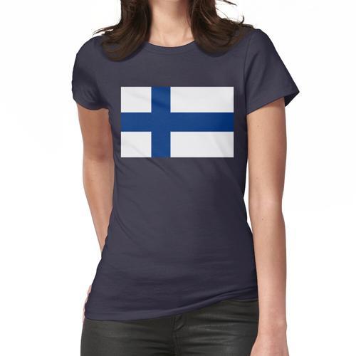 Finnische Flagge Finnischer Patriot Frauen T-Shirt