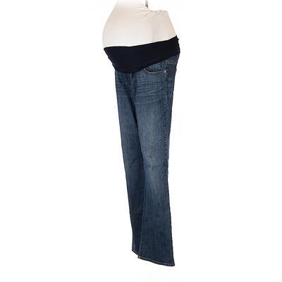 Liz Lange Maternity for Target Jeans - Super Low Rise: Blue Bottoms - Size 6