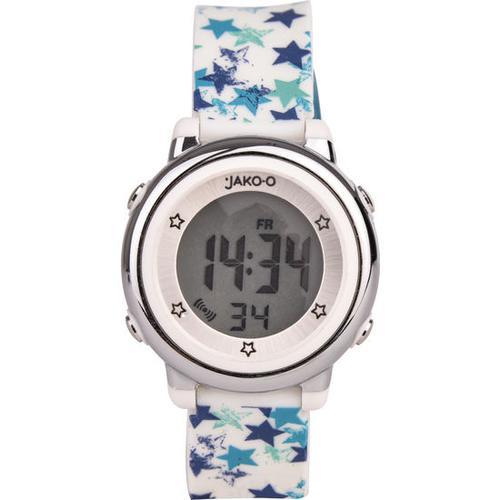JAKO-O Kinder-Armbanduhr digital, weiß