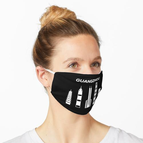 Guangzhou-Skyline, China Maske