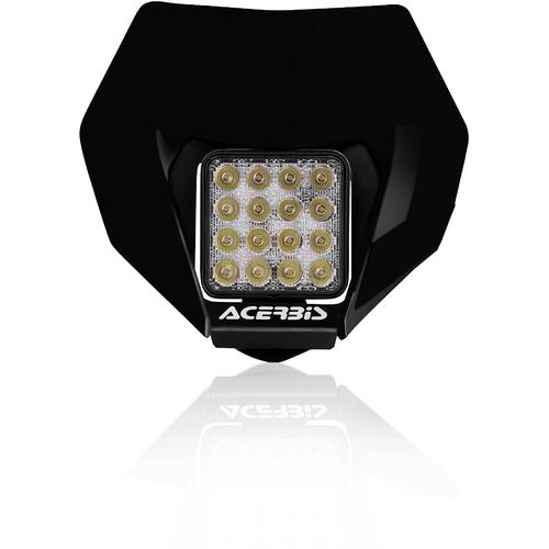 Acerbis VSL Scheinwerfer, schwarz