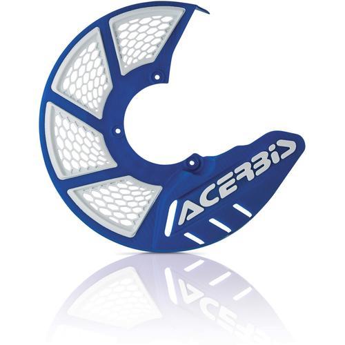 Acerbis X-Brake 2.0 Frontscheibenabdeckung, weiss-blau
