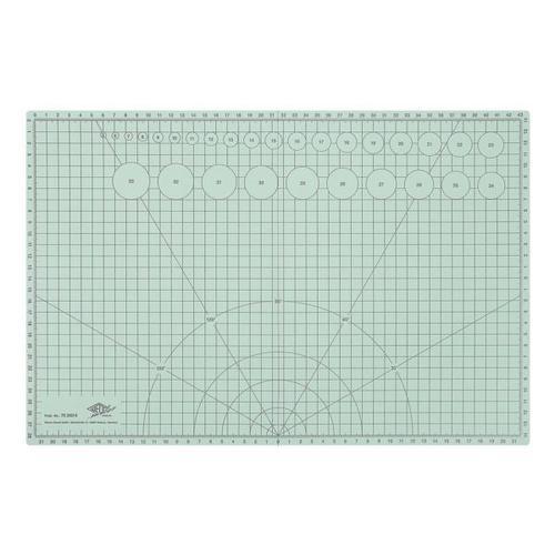 Faltbare Bastel- und Schneidematte, Wedo, 45x30 cm