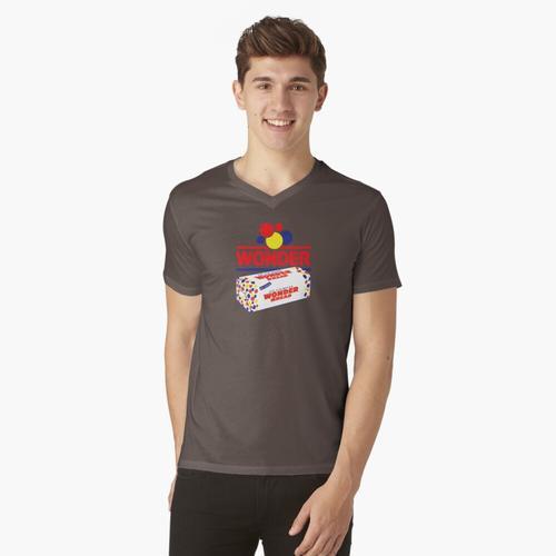 WUNDER BROT t-shirt:vneck