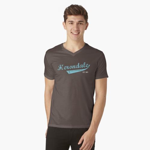 Herondale est. 1861 t-shirt:vneck