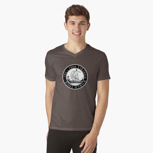 Vikings World Tour / Wikinger / Vikings t-shirt:vneck