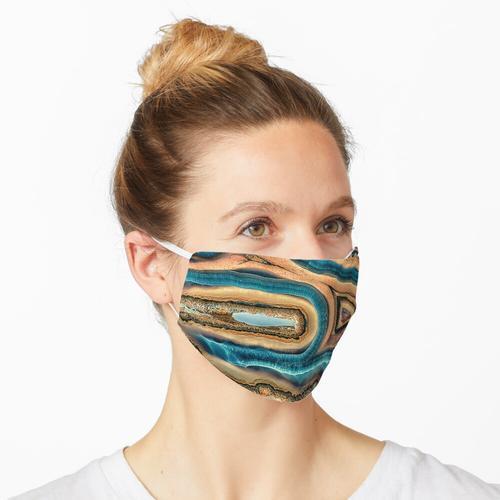 Wal oder Specht Achat Maske