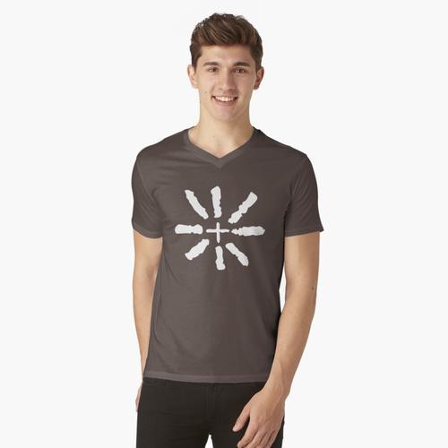 Eisenbahn Ally t-shirt:vneck