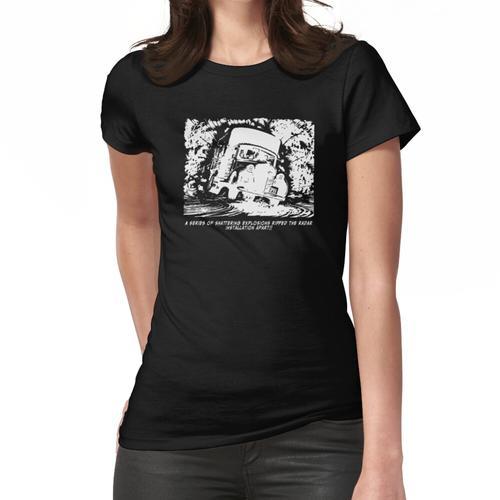 Explodierender LKW. Frauen T-Shirt