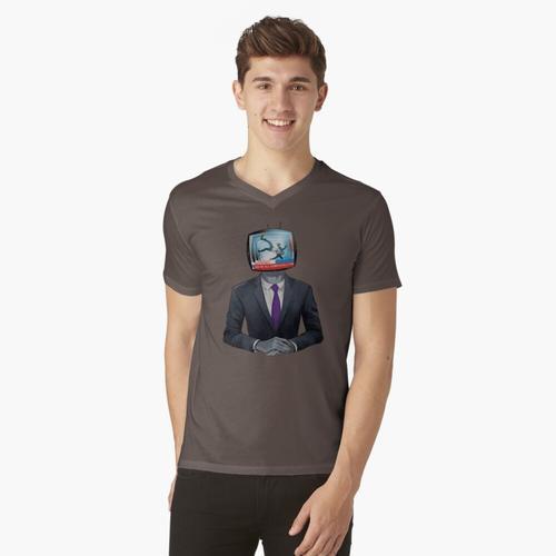 Wir sind alle komplett Fu ...... t-shirt:vneck