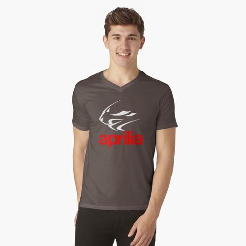 Aprilia t-shirt:vneck