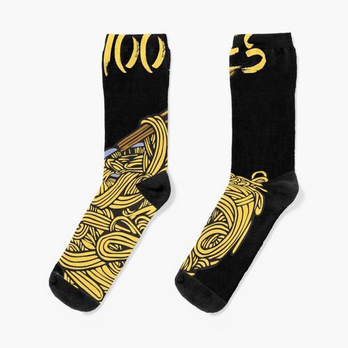 Schüssel chinesische Nudeln Socken