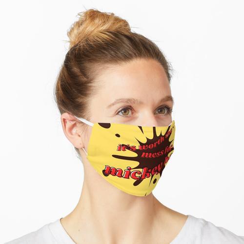 Chaotische Mickey Bar Maske
