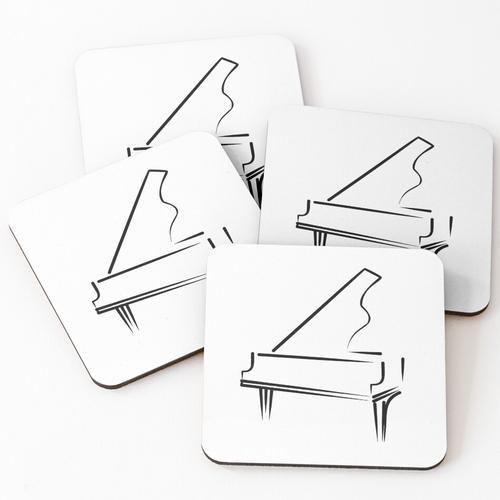 Klavier Untersetzer