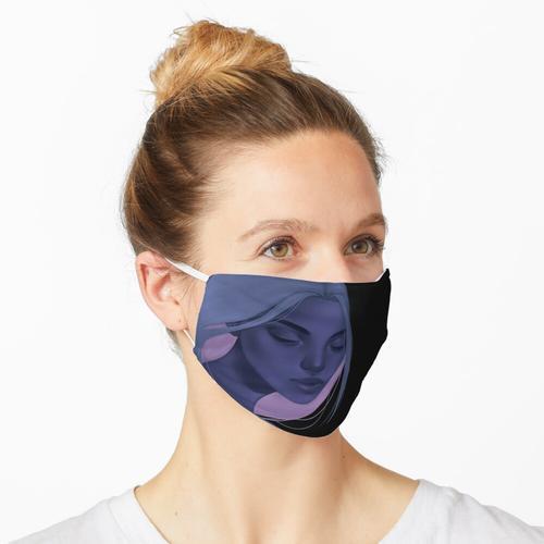 Rosa Akzent Maske