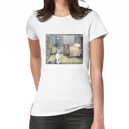 Wo die wilden Kerle Geburtstagsdekorationen sind Frauen T-Shirt
