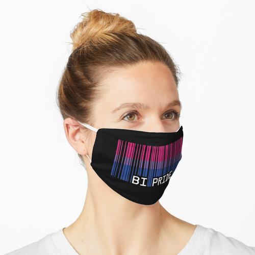 Bi Pride [Strichcode] Maske