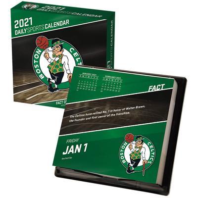 """Boston Celtics 2021 Box Calendar"""