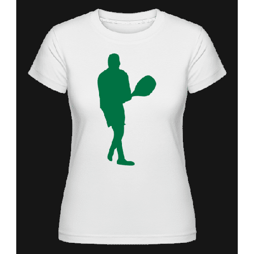 Tischtennis Spieler - Shirtinator Frauen T-Shirt