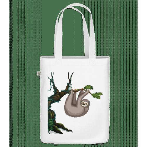 Faultier Hängt Am Baum - Bio Tasche