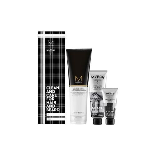 Paul Mitchell Aktionsartikel Sets Geschenkset Double Hitter 250 ml + Cooling Aftershave 75 ml + Skin + Beard Lotion 25 ml 1 Stk.