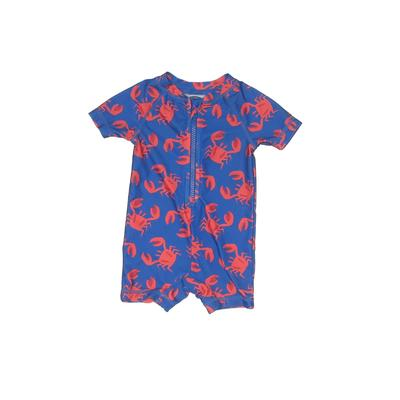 Old Navy Rash Guard: Blue Sporting & Activewear - Size 3-6 Month