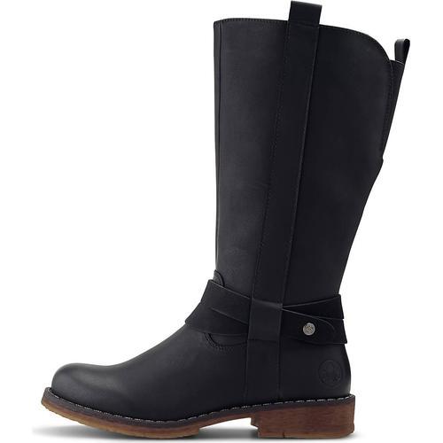 Rieker, Trend-Stiefel in schwarz, Stiefel für Damen Gr. 41