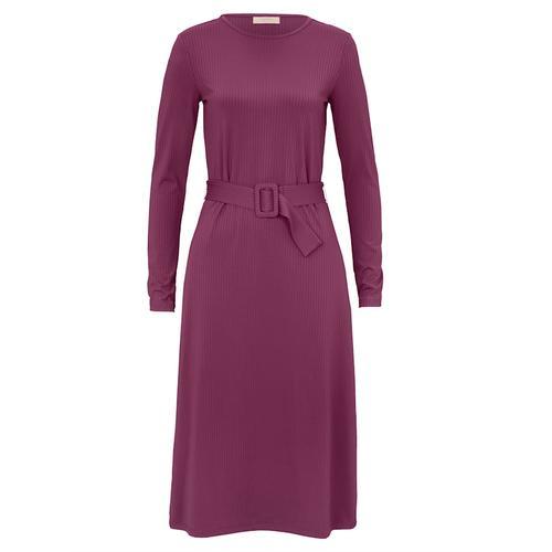 Kleid SIENNA Brombeere