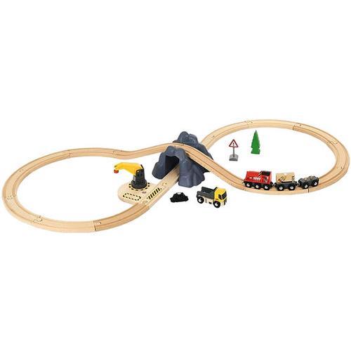 BRIO® Bahn Acht Tunnel-Set mit Batterielok, bunt