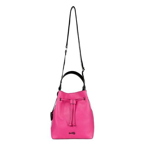 Beuteltasche Taschenherz pink