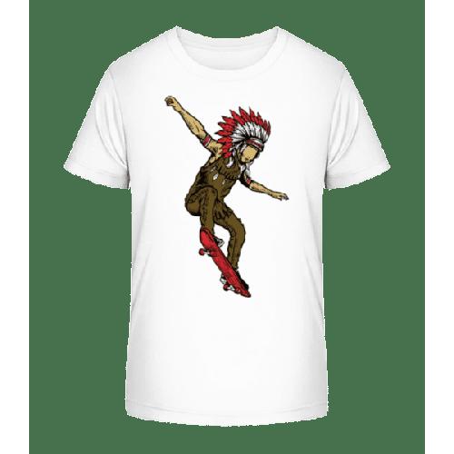Indian Chief Skateboard - Kinder Premium Bio T-Shirt