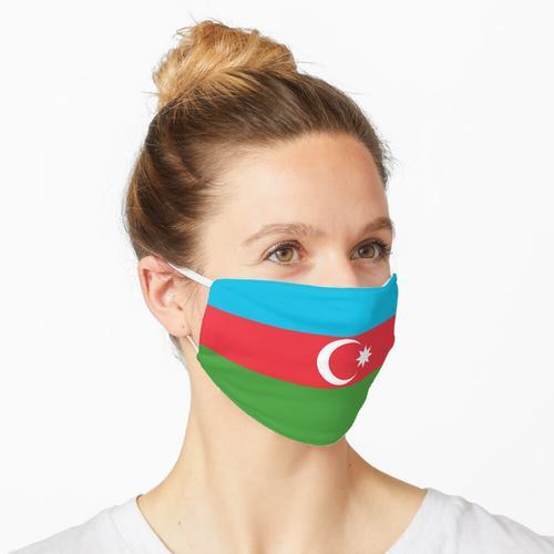 Aserbaidschan aserbaidschanische Flagge Fahne Maske