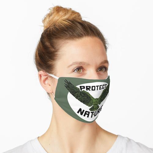 Naturschutz Umweltschutz Klimaschutz Tierschutz Artenschutz Maske
