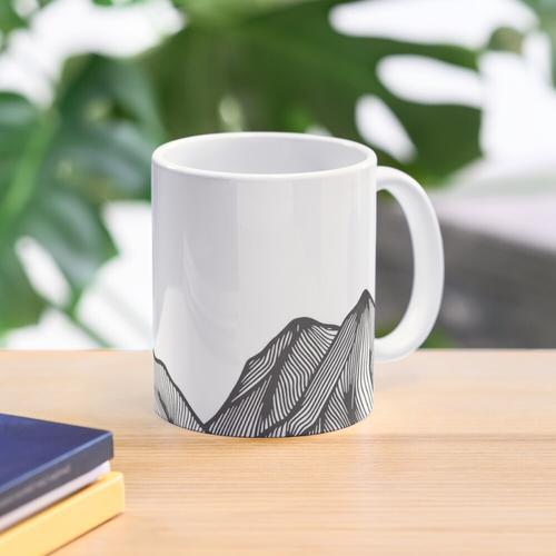 hill climber. Mug