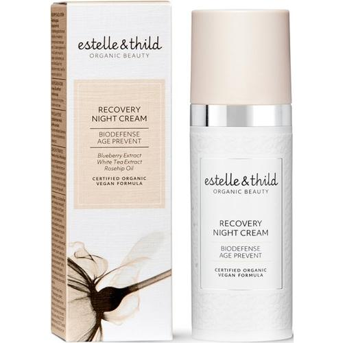estelle & thild BioDefense Recovery Night Cream 50 ml Nachtcreme