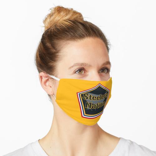 Steelers Nation- Steelers Gold Maske