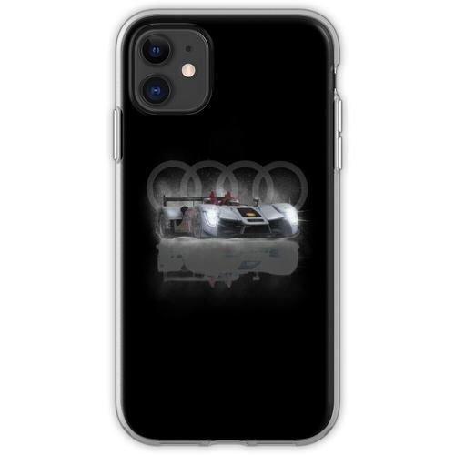 Audi Motoracer Design von MotorManiac Flexible Hülle für iPhone 11