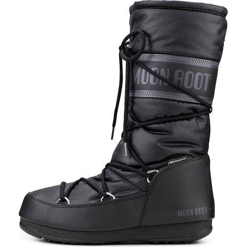 Moon Boot, Moonboots High Nylon Wp in schwarz, Boots für Damen Gr. 37