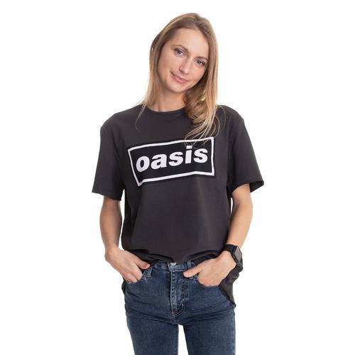 Oasis - Logo Grey - - T-Shirts