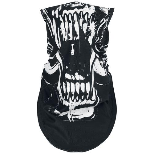 Motörhead Warpig Biker Mask Maske - schwarz weiß - Offizielles Merchandise