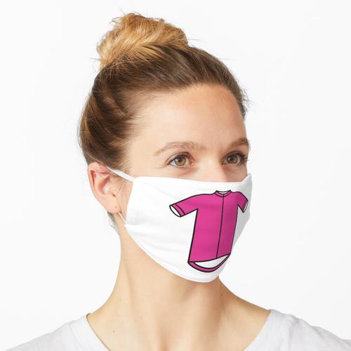 Rosa Giro-Radtrikot Maske