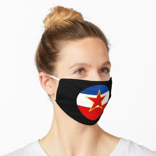 Ex Jugoslawien - Jugoslawien Flagge - SFRJ Maske