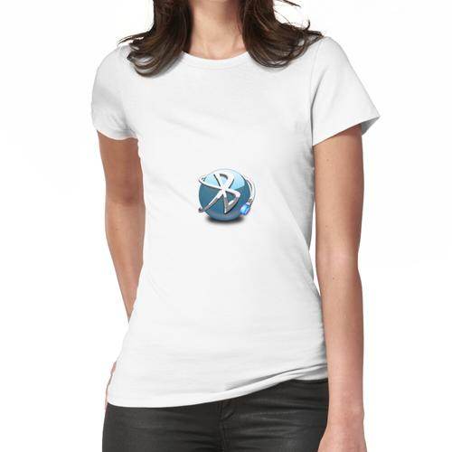 Bluetooth 3d Frauen T-Shirt