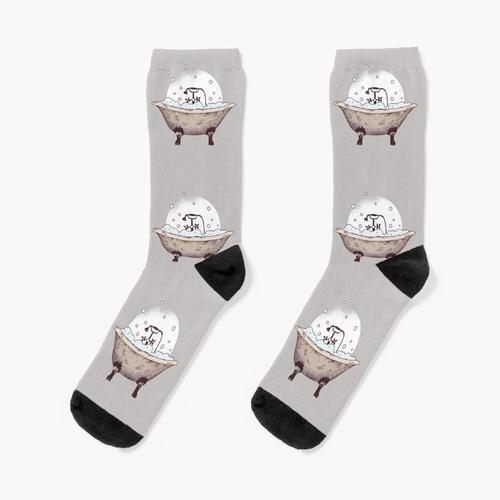 Badewanne Socken