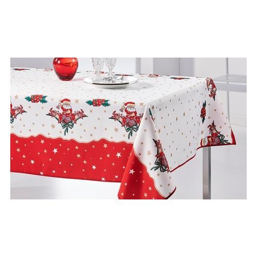 Tischdecke: Weihnachtsmann / 350 x 150 cm