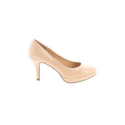Madden Girl Heels: Tan Solid Sho...