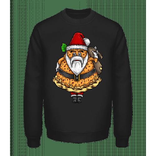 Weihnachtsmann Pizza - Unisex Pullover